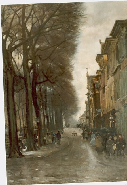 Floris Arntzenius | The Brouwersgracht, The Hague, Öl auf Leinwand, 68,0 x 53,0 cm, signed l.r.