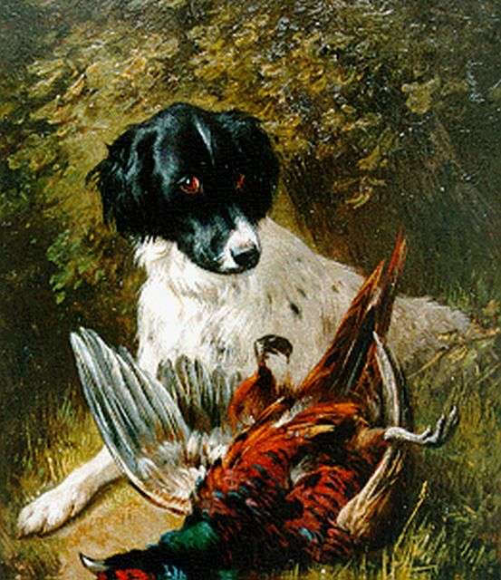 Ronner-Knip H.  | A good catch, Öl auf Tafel 19,5 x 15,8 cm, signed l.r.