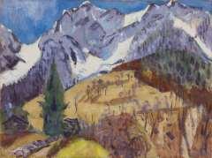 Altink J. - Das Gridone Massiv, die Schweiz, Öl auf Leinen 75 x 100,4 cm, signiert u.r.und datiert '62